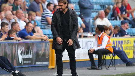 Daniel Farke was left a trouble figure following Norwich City's Millwall capitulation. Picture: Paul