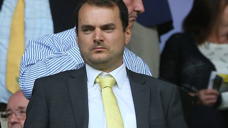 Sporting director Stuart Webber is overseeing a long-term project at Norwich City. Picture by Paul C