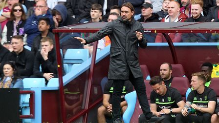 Daniel Farke wants Norwich to up the intensity without the ball. Picture: Paul Chesterton/Focus Imag