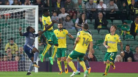 Alex Tettey was a key figure in the cup win over Charlton. Picture: Paul Chesterton/Focus Images Ltd