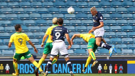 Millwall captain Steve Morison caused his former club plenty of problems at The Den ahead of the int