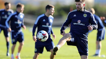 Grant Hanley could be on his way to Norwich City. Picture: PA