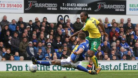 Cameron Jerome ploughed a lone furrow for much of the afternoon during City's 1-0 win at Portman Roa