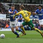 Cole Skuse tries to put the brakes on City's James Maddison. Picture: Paul Chesterton/Focus Images L