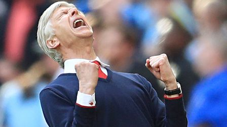 Arsene Wenger has clocked up two decades at Arsenal. Picture: Adam Davy/PA Wire.