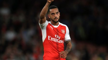 Theo Walcott is another of the experienced players who could feature against the Canaries.