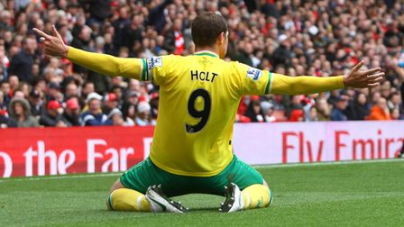 Grant Holt was among the goals at the Emirates. Picture: Paul Chesterton/Focus Images