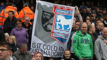 A home banner that went awry. Picture: Paul Chesterton/Focus Images Ltd