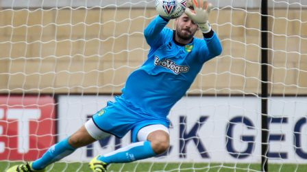 Norwich keeper Remi Matthews is on loan at Plymouth Argyle. Picture by Liam McAvoy/Focus Images Ltd