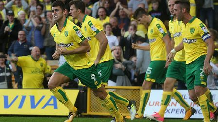 Nelson Oliveira salvaged a point against Hull. Picture: Paul Chesterton/Focus Images Ltd