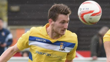 Adam Hipperson was on target in Norwich United's win over Waltham Abbey. Picture: Archant