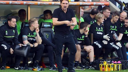 Daniel Farke has brushed off any fears about his lack of experience in the East Anglian derby. Pictu