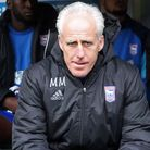 Ipswich Town manager Mick McCarthy will bid to win his first East Anglian derby on Sunday. Picture b