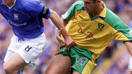 Alex Notman in action against Ipswich Town in 2002 - the game which effectively ended the former Man