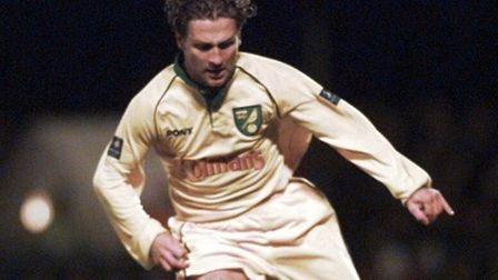 Darren Eadie in action during City's 1-0 win at Portman Road in October 1998, thanks to a Craig Bell