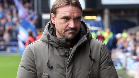 Norwich City head coach Daniel Farke checks in at Portman Road. Picture: Paul Chesterton/Focus Image