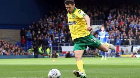 All hail a true Norwich City legend, as Wes Hoolahan makes another impact on the derby. Picture by P