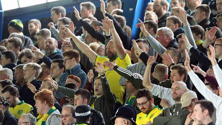 Norwich City fans certainly enjoyed their day out at Portman Road. Picture: Paul Chesterton/Focus Im