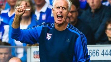 Former Ipswich Town manager Mick McCarthy: The face of the Tractor Boys for years Picture: Steve W