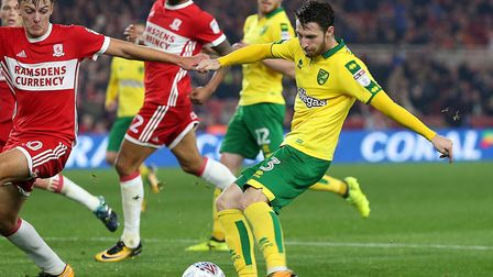 James Husband looks likely to retain Norwich City's left-back berth against Hull. Picture by Paul Ch