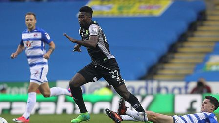 Norwich City midfielder Alex Tettey is set to miss a month through injury. Picture by Paul Chestert