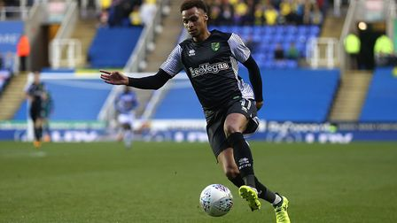Josh Murphy of Norwich mises the game with a broken toe. Picture: Paul Chesterton/Focus Images Ltd