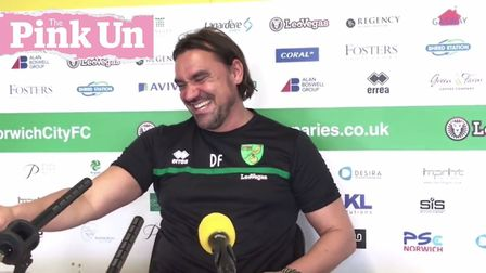 Daniel Farke has his say at Colney ahead of Norwich City's return to Championship action against Hul