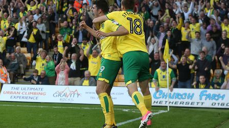Carrow Road had been waiting a fair time for a goal. Picture by Paul Chesterton/Focus Images