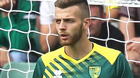 Angus Gunn is Norwich City's current number one goalkeeper. Picture: Paul Chesterton/Focus Images