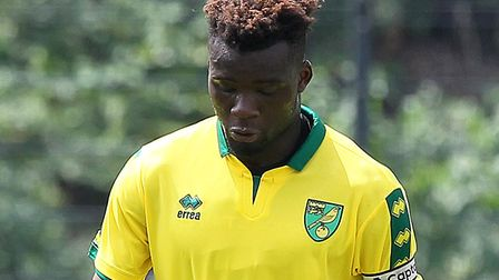 Norwich City defender Michee Efete is on loan at Torquay. Picture: Paul Chesterton/Focus Images Ltd