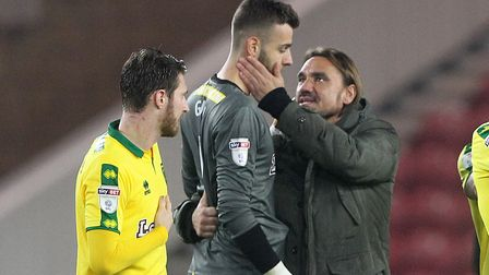 Daniel Farke has hailed Angus Gunn's impact at Norwich City. Picture: Paul Chesterton/Focus Images