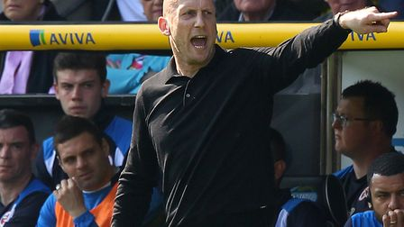 Reading boss Jaap Stam is preparing to take on Norwich City. Picture by Paul Chesterton/Focus Images