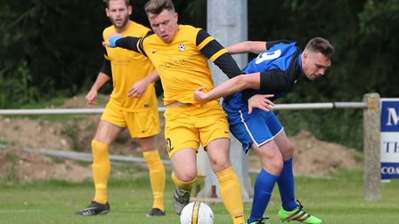 Waveney will be hoping to muscle in on the top six when they face Stalham Town. Picture: Steve Wood