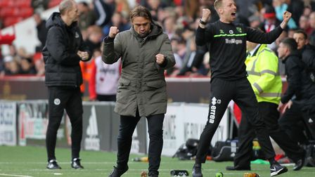 Daniel Farke savoured Norwich City's incident-packed win at Sheffield United .Pictur: Michael Sedgwi