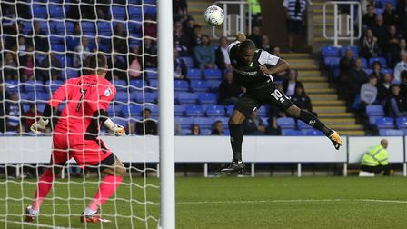 Cameron Jerome seals Norwich City's fourth consecutive away win. Picture: Paul Chesterton/Focus Imag