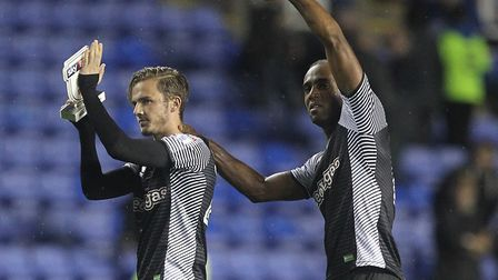 Cameron Jerome has his say on who scored the better goal at Reading on Saturday. Picture: Paul Chest