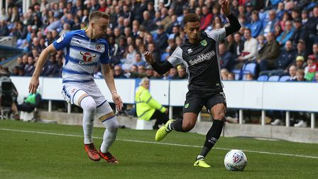 Josh Murphy was back in the mix at Reading. Picture: Paul Chesterton/Focus Images Ltd