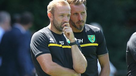 Matt Gill takes Norwich City Under-23s to Bournemouth on Wednesday. Picture: Paul Chesterton/Focus I