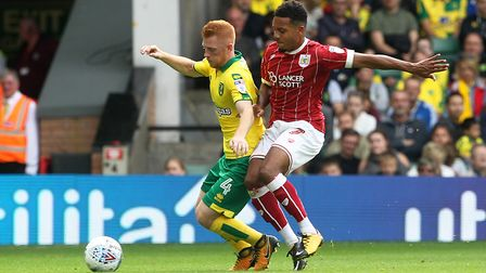 Korey Smith and Bristol City have also enjoyed a month to remember. Picture: Paul Chesterton/Focus I