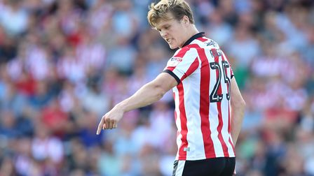 Sean Raggett is one for the future after being loaned back to Lincoln City. Picture: James Wilson/Fo
