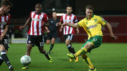 Marley Watkins underlined his versatility in the League Cup win at Brentford. Picture: Paul Chestert