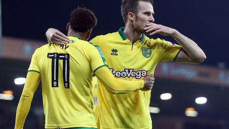 Marley Watkins has one goal for Norwich City since joining in the summer, which came against Charlto