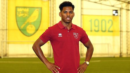 Tristan Abrahams scored a brace for the Under 23s at Bournemouth. Picture: Norwich City FC