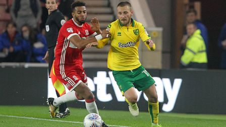 Tom Trybull has made a big impression at Carrow Road. Picture: Paul Chesterton/Focus Images Ltd