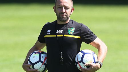 Matt Gill takes his Norwich City U23s side to Reading today. Picture by Paul Chesterton/Focus Images