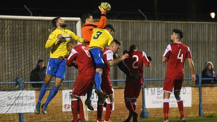 King's Lynn have a midweek clash at home to Biggleswade. Picture: Ian Burt