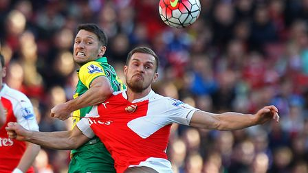 Norwich City's League Cup trip to Arsenal has been confirmed for Tuesday October 24. Picture: Paul C