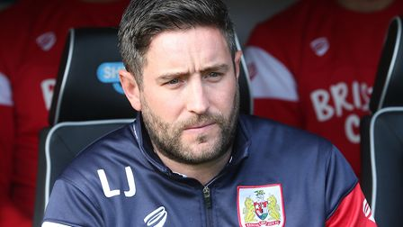 Bristol City manager Lee Johnson is still Bristol City manager - which is good going in itself. Pict