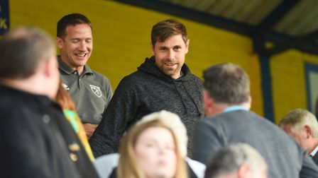 Grant Holt watched King's Lynn take on Norwich City U23s during pre-season. Picture: Ian Burt