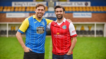 Grant Holt and Simon Lappin have signed for King's Lynn Town. Picture: Ian Burt
